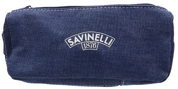 Pipe Accessories Savinelli Cloth 1 Pipe Combo Pouch Jeans
