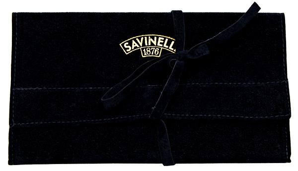 Pipe Accessories Savinelli Velvet Pouch Blue