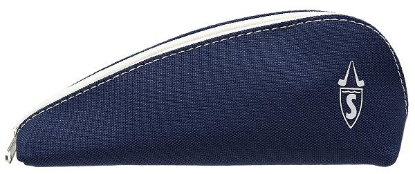 Pipe Accessories Savinelli Cloth 1 Pipe Pouch Dark Blue