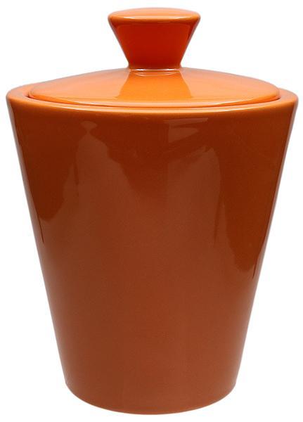 Pipe Accessories Savinelli Ceramic Tobacco Jar Orange