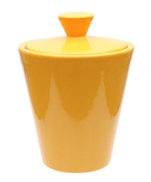 Pipe Accessories Savinelli Ceramic Tobacco Jar Light Orange