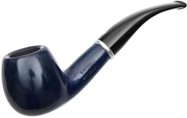 Savinelli Arcobaleno Smooth Blue (626) (9mm)