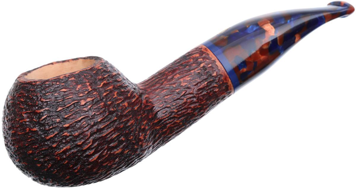 Savinelli Fantasia Rusticated Brown (320 KS) (9mm)