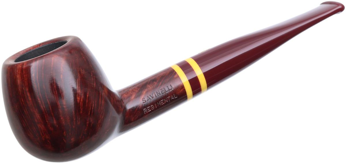 Savinelli Regimental Smooth Bordeaux (207) (9mm)