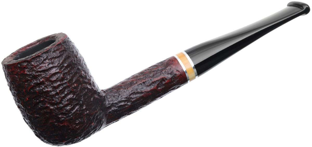 Savinelli Oscar Rusticated Brown (128) (6mm)