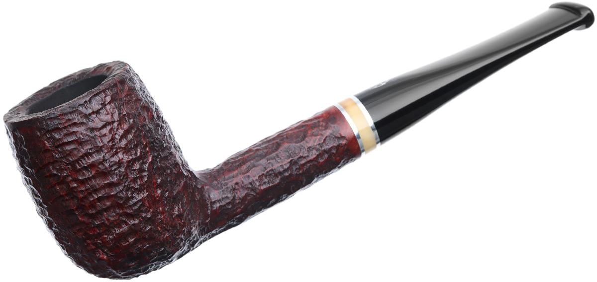 Savinelli Oscar Rusticated Brown (128) (6mm)