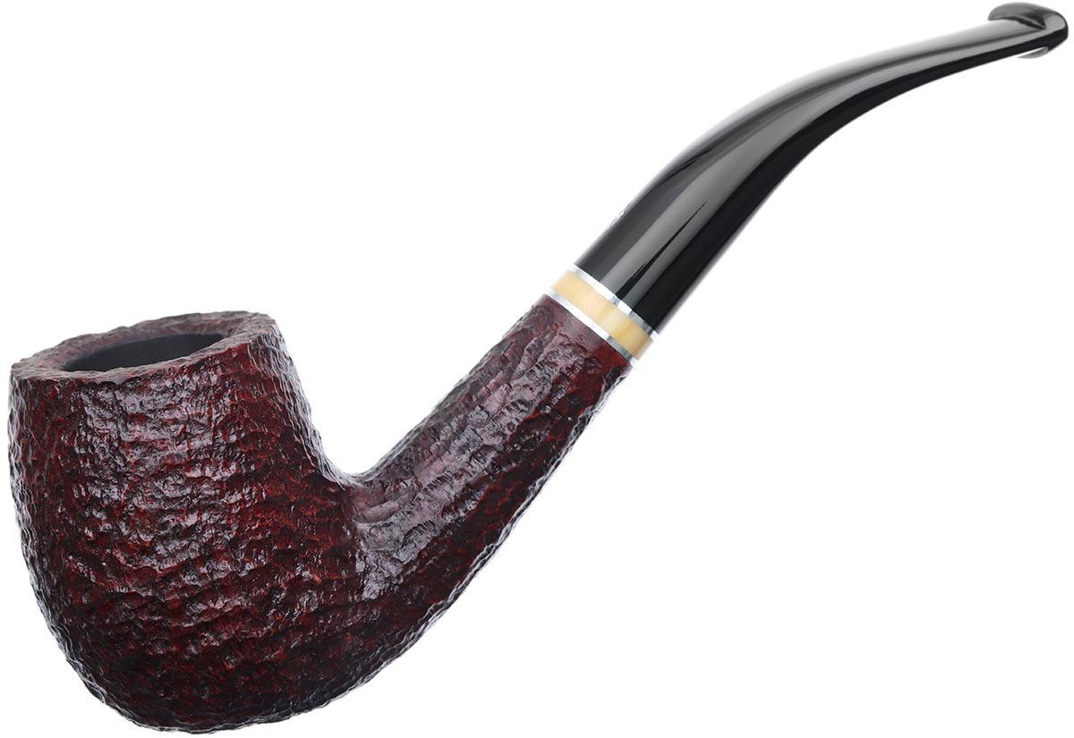 Savinelli Oscar Rusticated Brown (606 KS) (9mm)