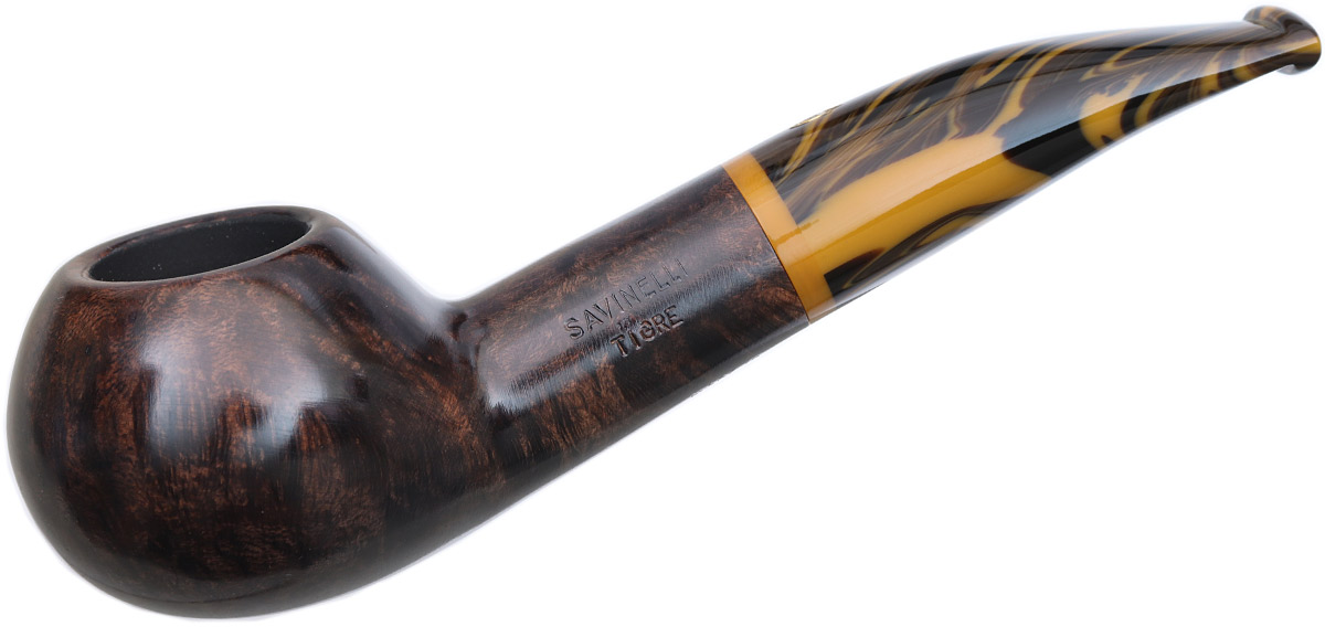 Savinelli Tigre Smooth Dark Brown (321) (9mm)