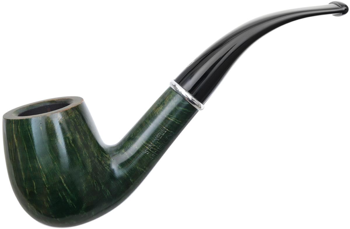 Savinelli Arcobaleno Smooth Green (606 KS) (9mm)
