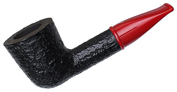 Savinelli Mini Rusticated Red Stem (409) (6mm)