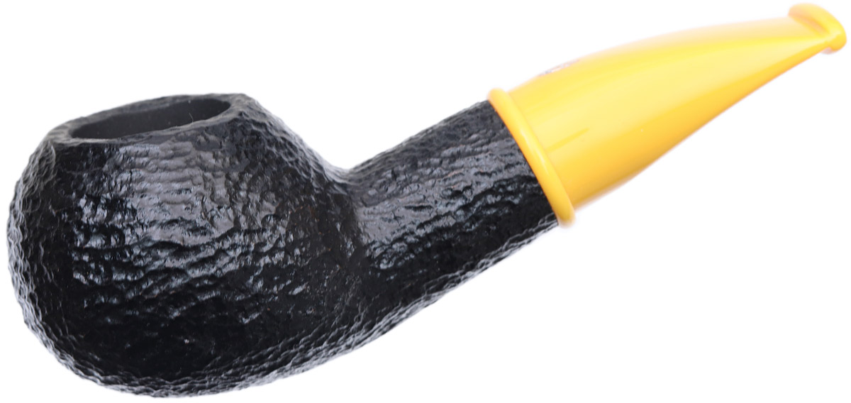 Savinelli Mini Rusticated Yellow Stem (321) (9mm)