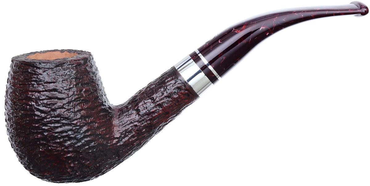 Savinelli Bacco Rusticated Dark Brown (670 KS) (6mm)
