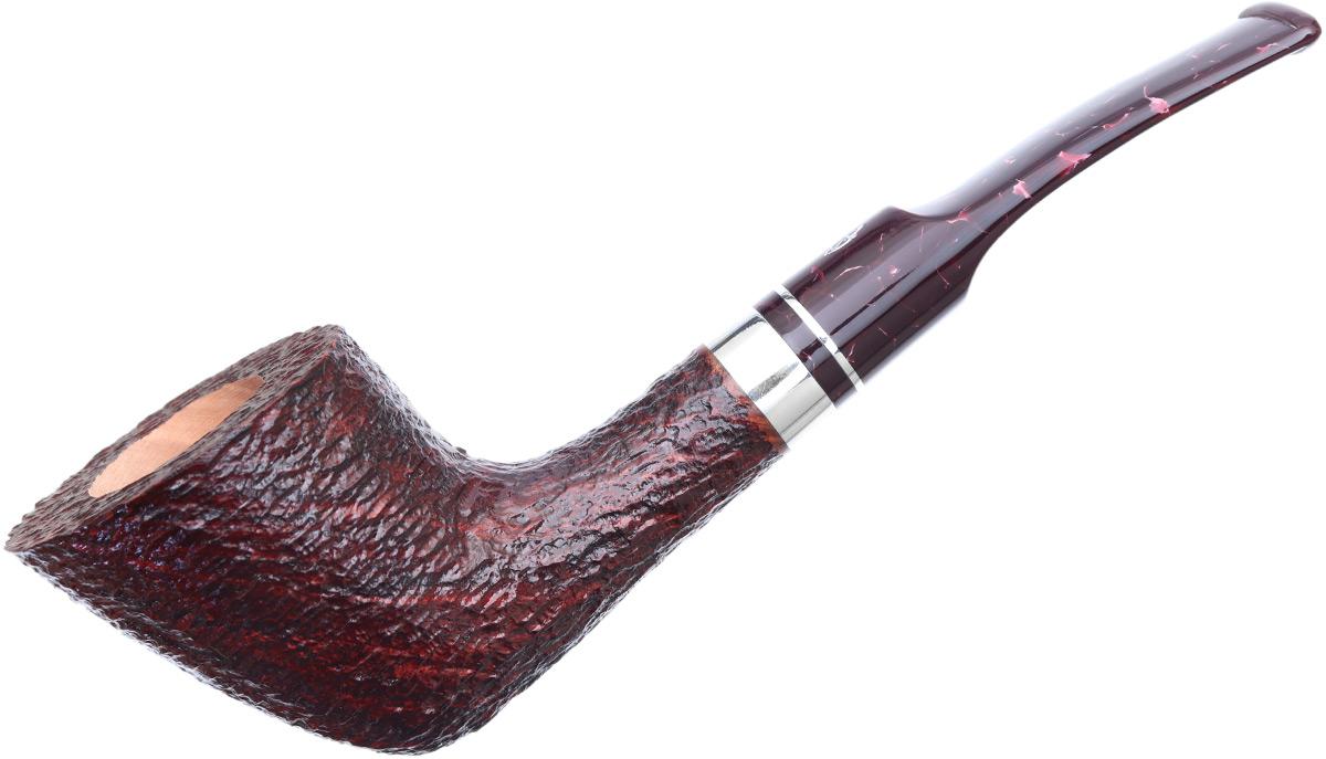 Savinelli Bacco Rusticated Dark Brown (904 KS) (6mm)
