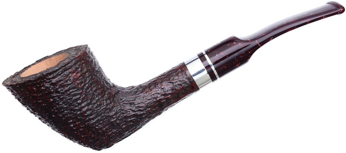 Savinelli Bacco Rusticated Dark Brown (904 KS) (9mm)