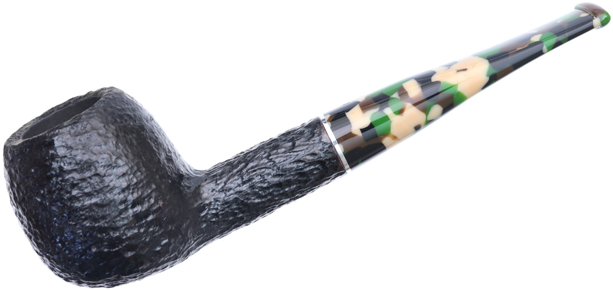 Savinelli Camouflage Rusticated Black (207) (6mm)