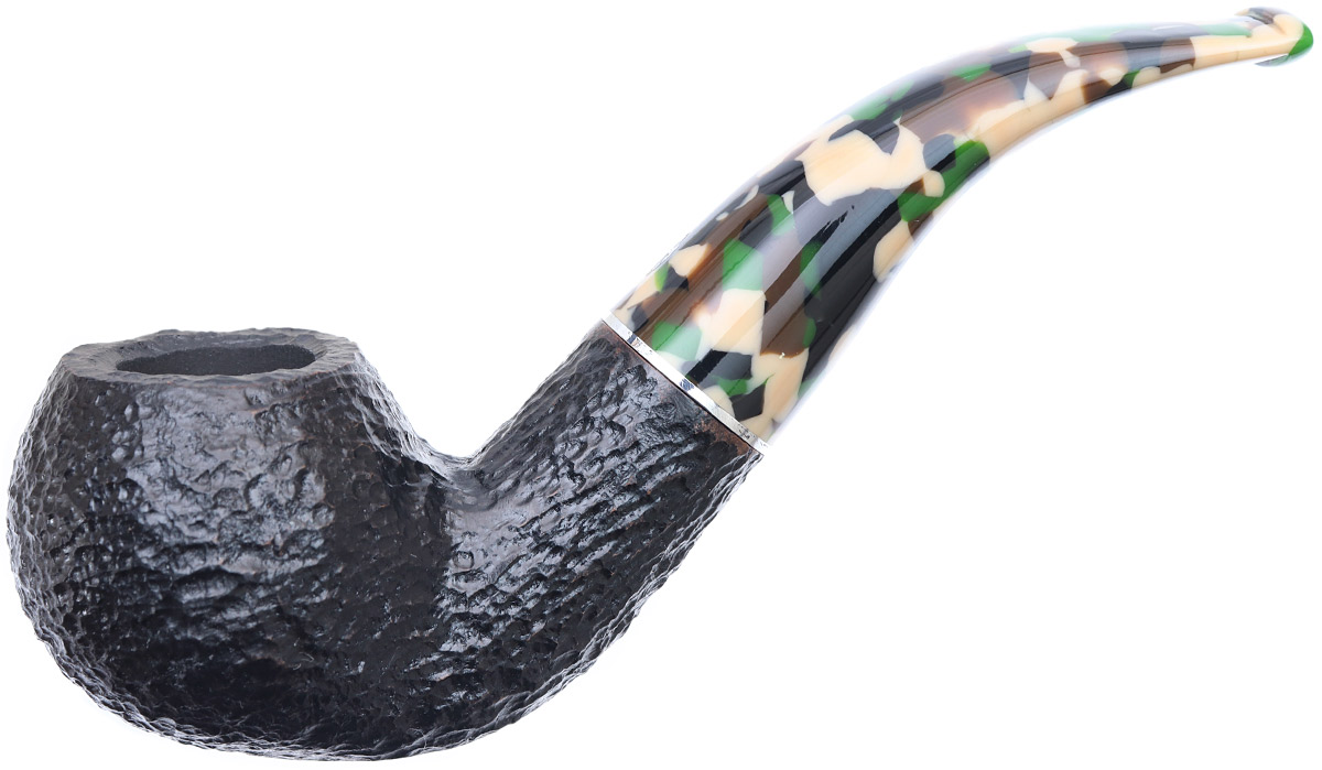 Savinelli Camouflage Rusticated Black (642) (9mm)