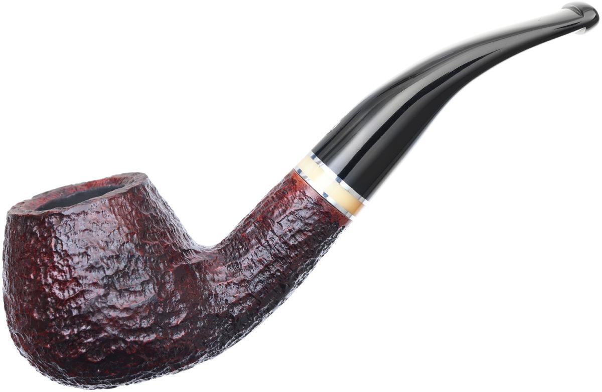 Savinelli Oscar Rusticated Brown (645 KS) (9mm)