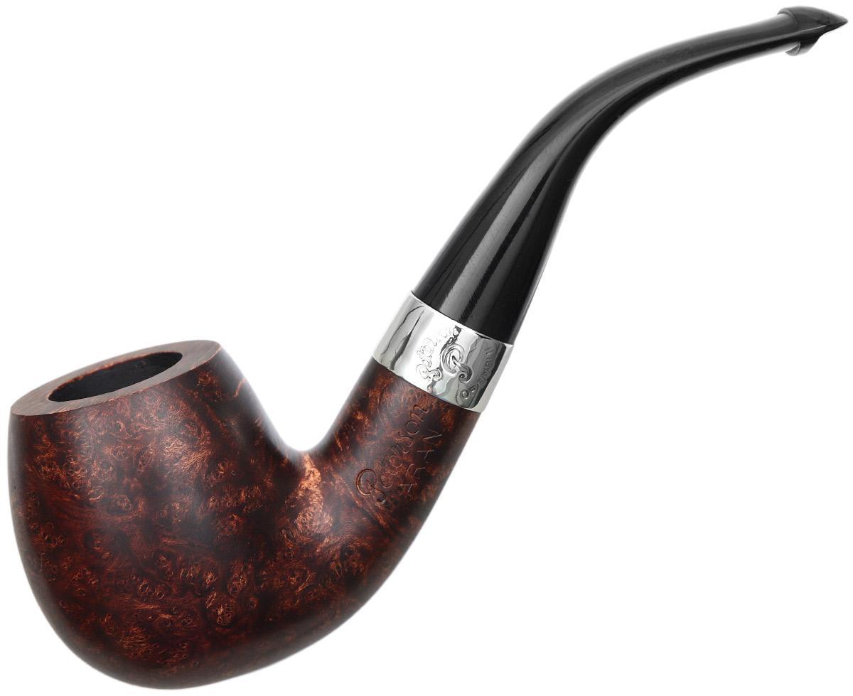 Peterson Aran Smooth Nickel Mounted (68) P-Lip