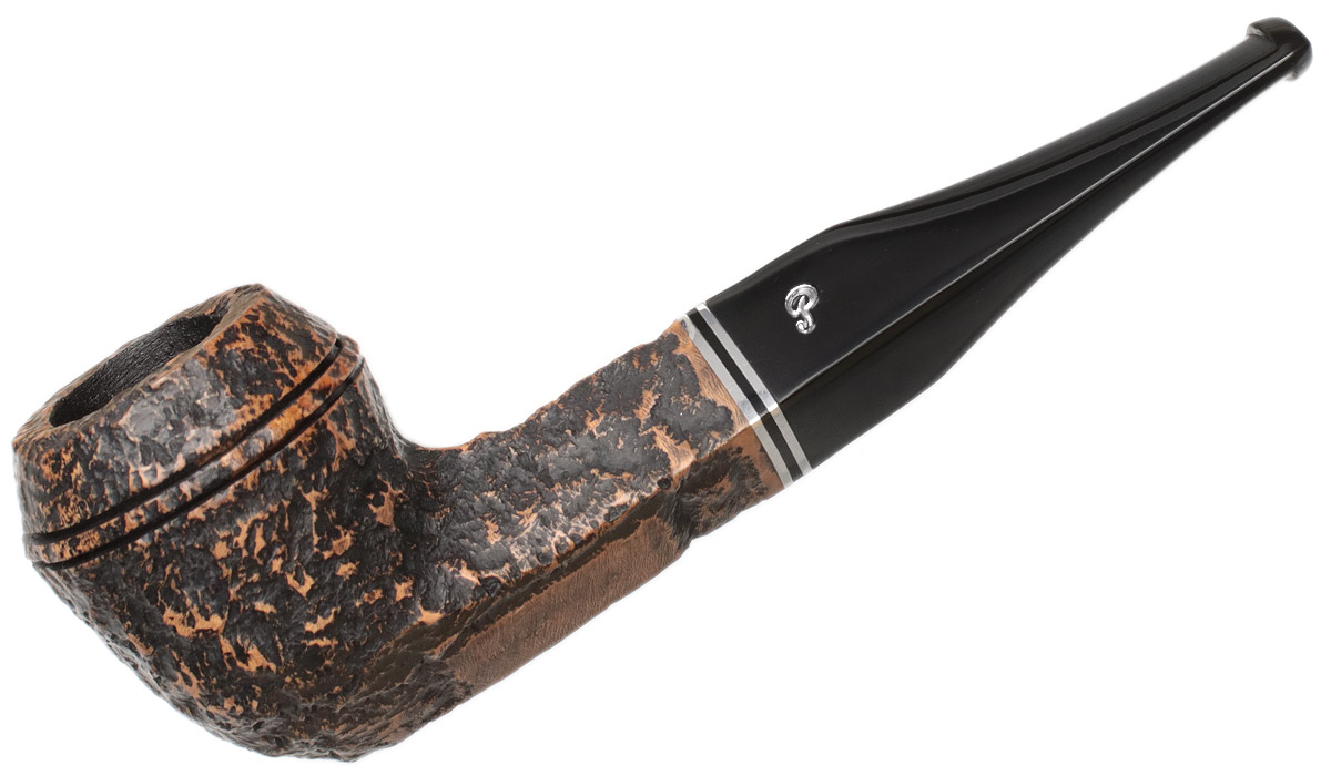 Peterson Dublin Filter Rusticated (150) Fishtail (9mm)