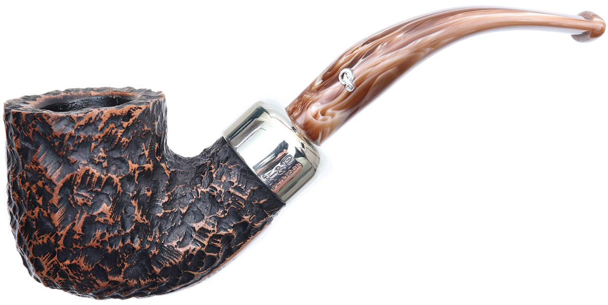 Peterson Derry Rusticated (01) Fishtail (9mm)