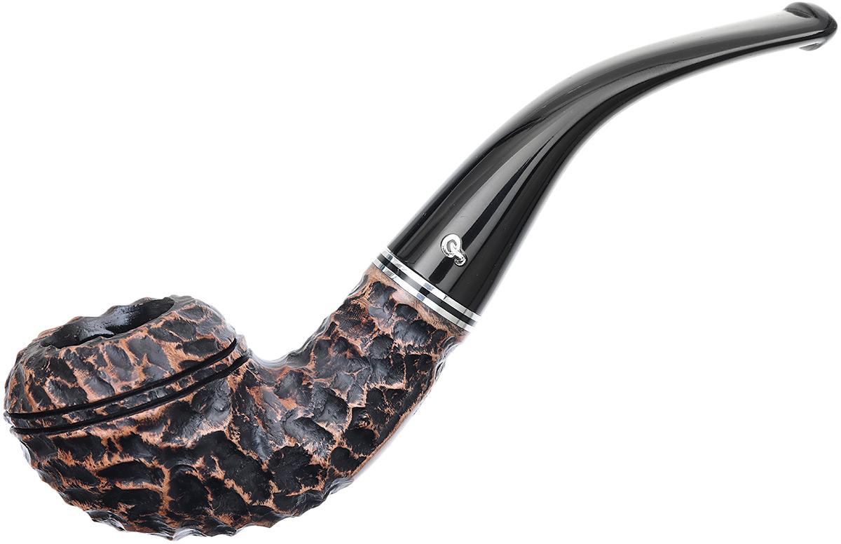 Peterson Dublin Filter Rusticated (999) Fishtail (9mm)