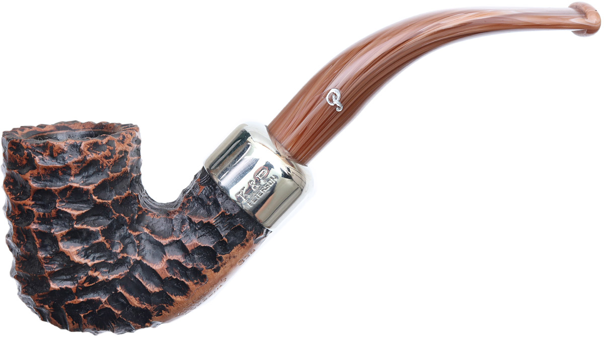 Peterson Derry Rusticated (338) Fishtail (9mm)