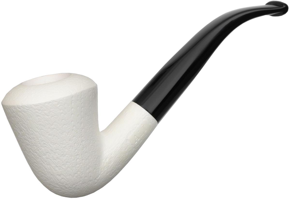 AKB Meerschaum Rusticated Calabash (Ali) (with Case)