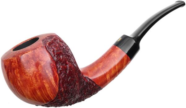 Winslow Crown Partially Rusticated Bent Acorn (Viking)