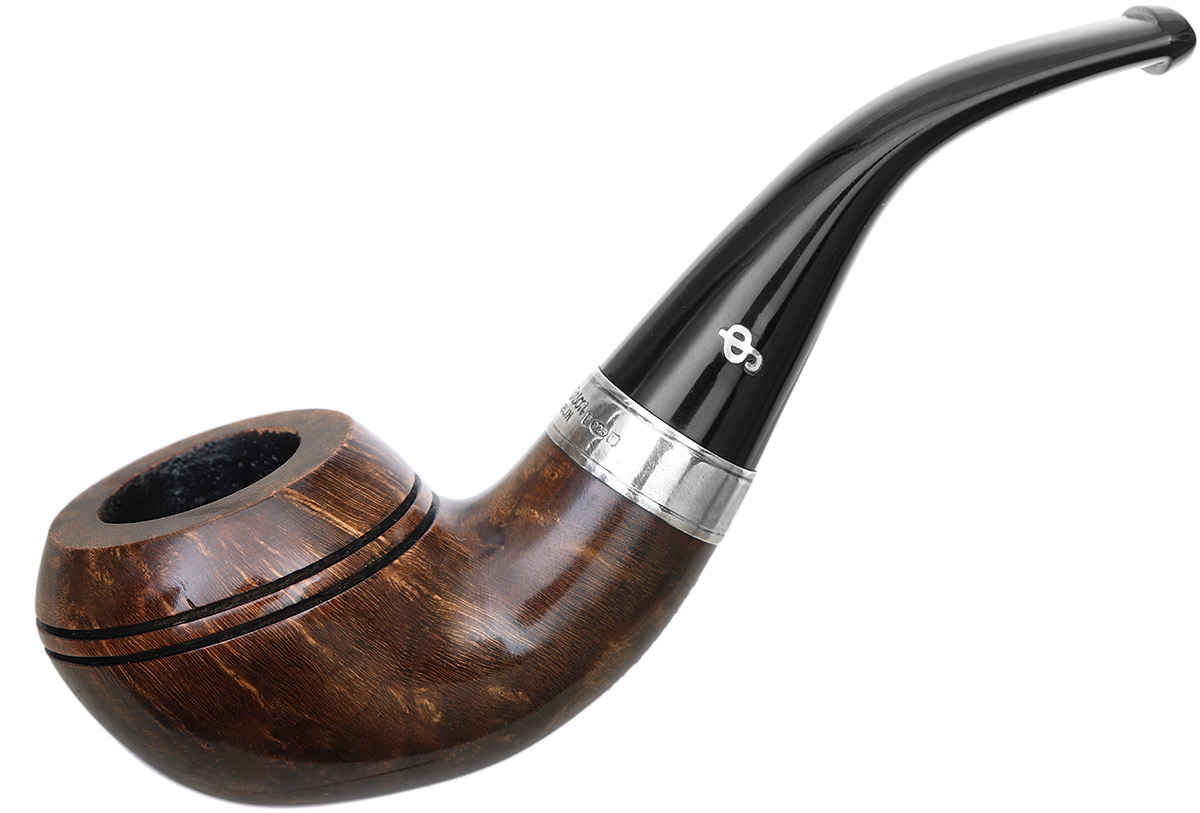 Irish Seconds Smooth Stubby Rhodesian with Silver Band Fishtail (2)