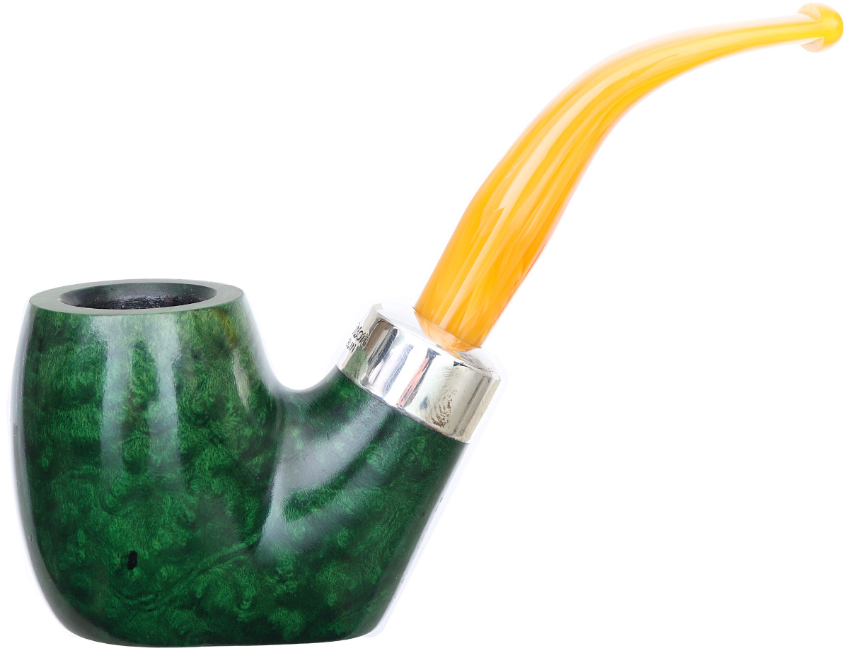 Irish Seconds Smooth Oom Paul with Silver Band Fishtail (2)