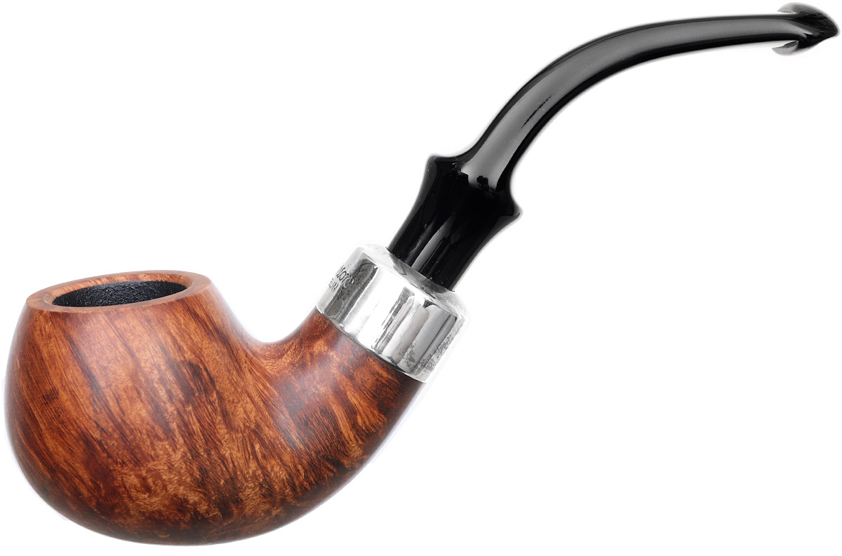 Irish Seconds Smooth Bent Apple with Silver Band P-Lip (2)