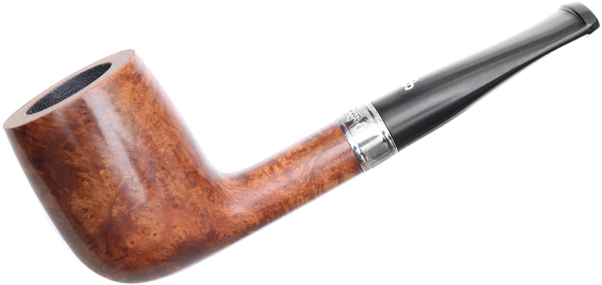 Irish Seconds Smooth Billiard with Silver Band Fishtail (2)