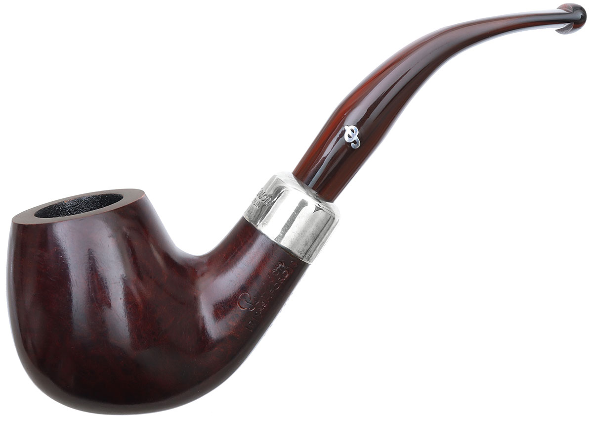 Irish Seconds Smooth Bent Apple with Silver Army Mount Fishtail (9mm) (2)