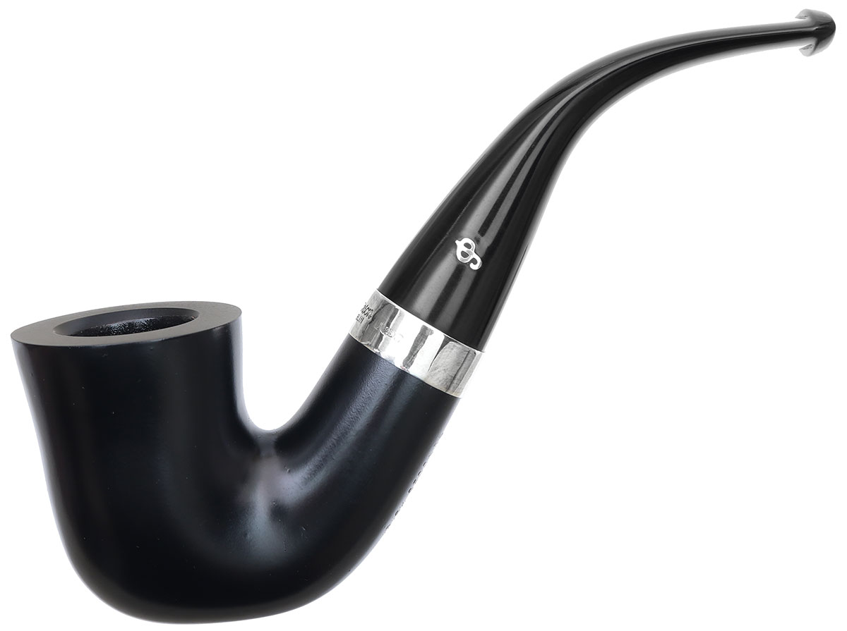 Irish Seconds Smooth Bent Dublin with Silver Band Fishtail (2)