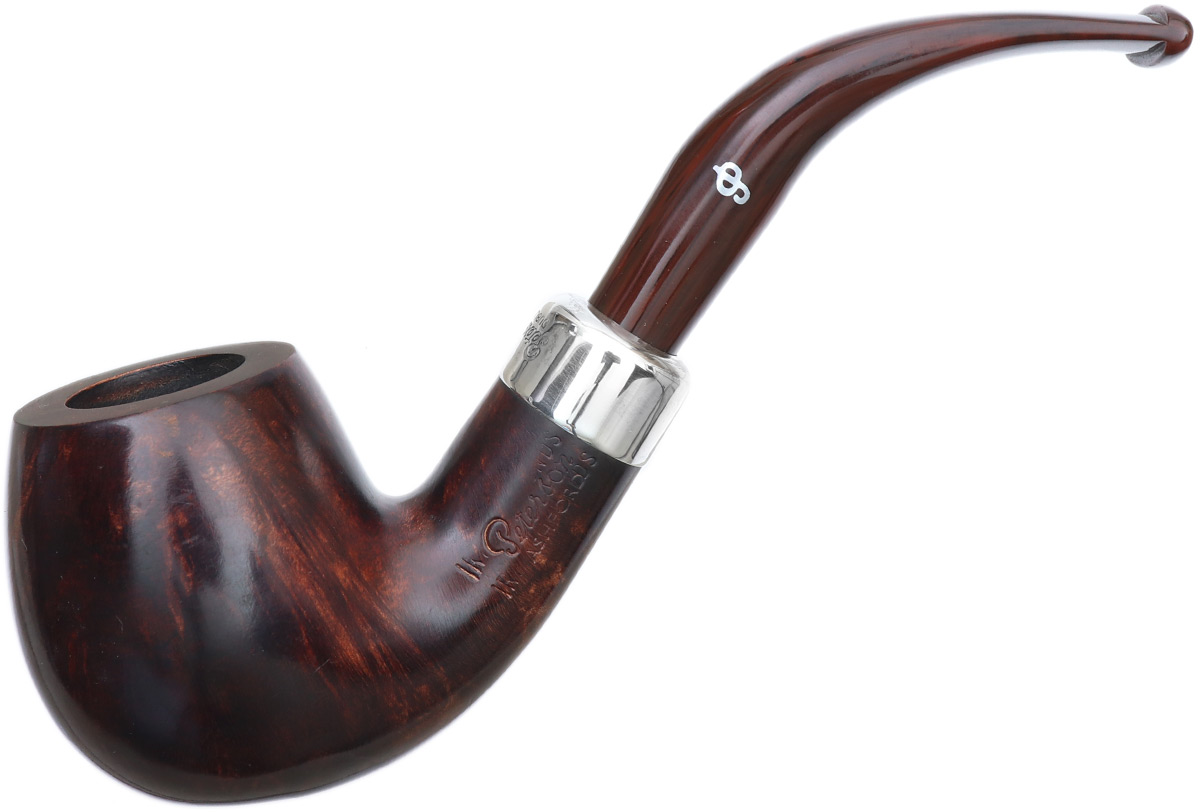 Irish Seconds Smooth Bent Brandy Silver Mounted Fishtail (2)