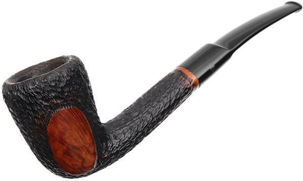 Misc. Estates Fumo Small Cut Partially Rusticated Bent Dublin (423)