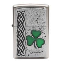 Lighters Zippo Irish Shamrock