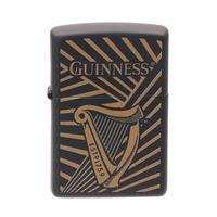 Lighters Zippo Matte Black Guinness Harp