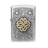 Lighters Zippo Celtic Knot Steet Chrome