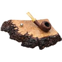 Pipe Accessories Scott Tinker Live Edge Big Leaf Maple Burl 2 Pipe Stand