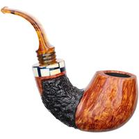 Winslow Partially Rusticated Bent Egg (9mm) (E)