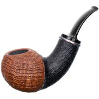 J. Alan Sandblasted Cradled Apple with Silver (1438)