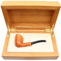 Castello Collection Great Line Fiammata Bent Billiard (KK) (with Presentation Box)