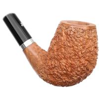 Ser Jacopo Rusticated Bent Egg Churchwarden with Silver (R2) (Spongia) (9mm)